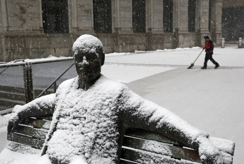 Northeast gets clobbered with fourth snowstorm in 3 weeks