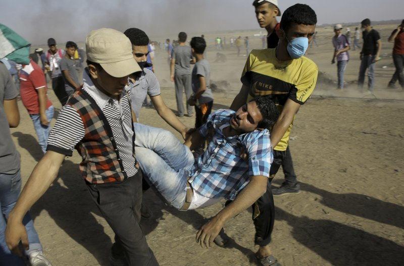 The Latest: UN Assembly blames Israel for Gaza violence