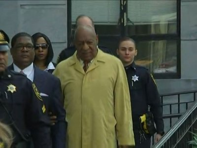 Raw: Cosby Leaves Pa. Court After Hearing