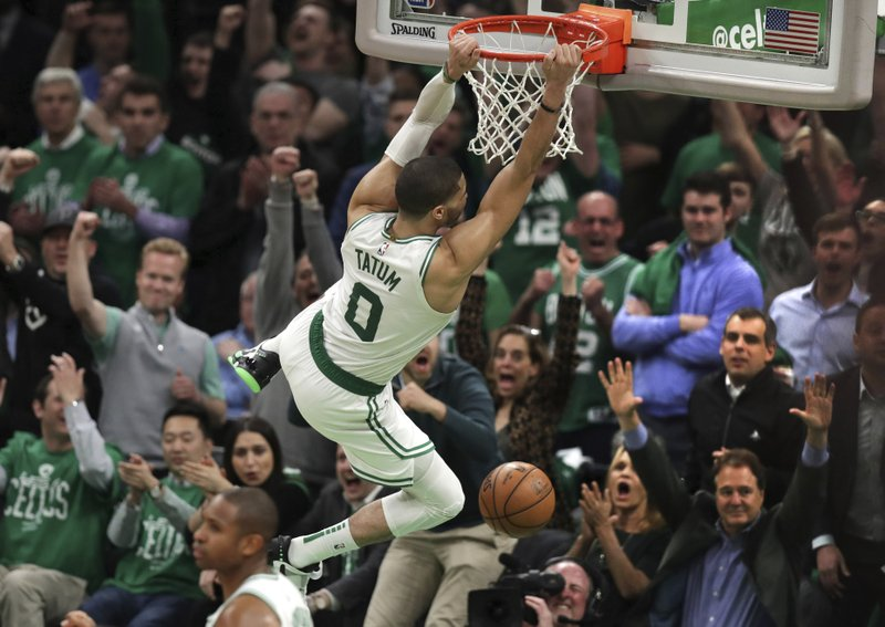 Image result for jayson tatum dunk pacers