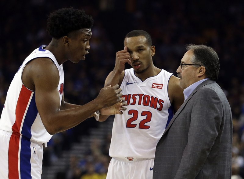 Avery Bradley, Stanley Johnson, Stan Van Gundy