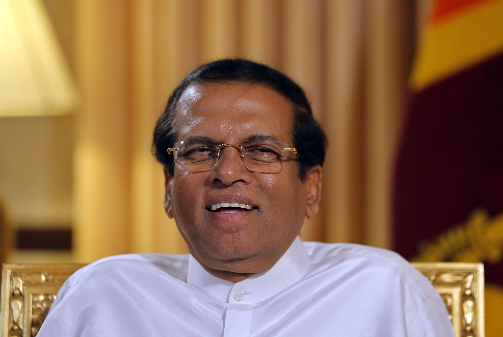 AP Interview: President says Sri Lanka now safe for tourists