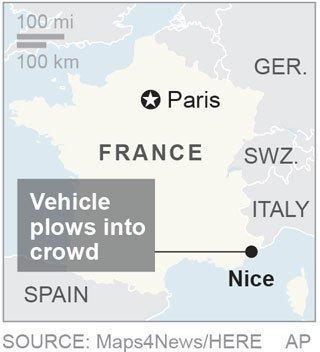 FRANCE CRASH NICE