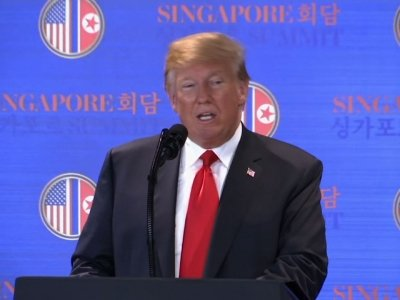 Trump: US and NKorea Ready to Write New History