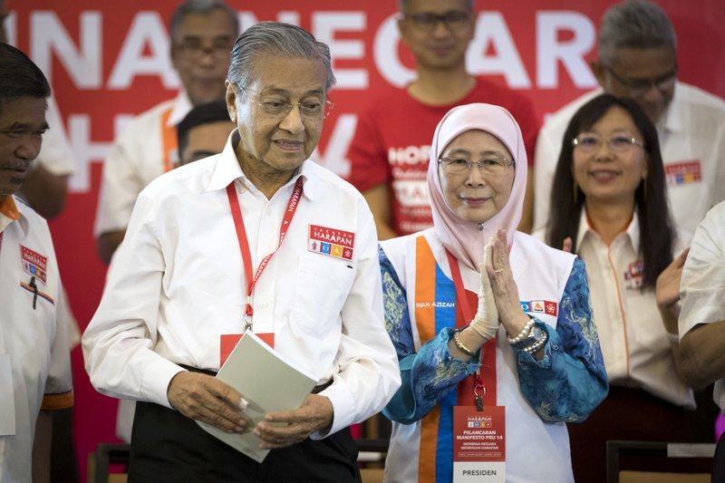 Mahathir Mohamad, Wan Azizah