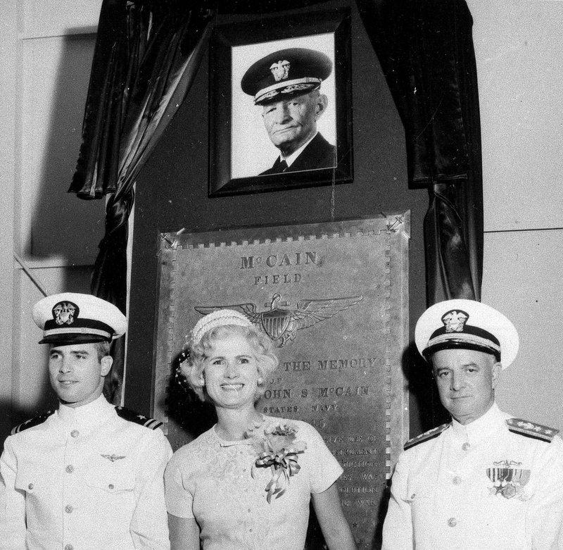 John S. McCain III, Roberta Wright McCain, John S. McCain Jr.