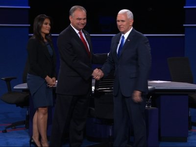 Gloves Come off Early at Vice President Debate
