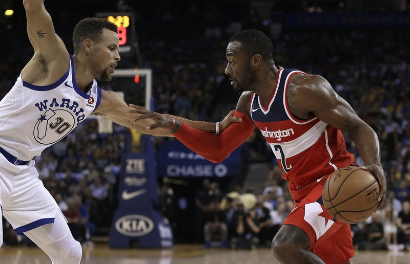 Stephen Curry, John Wall