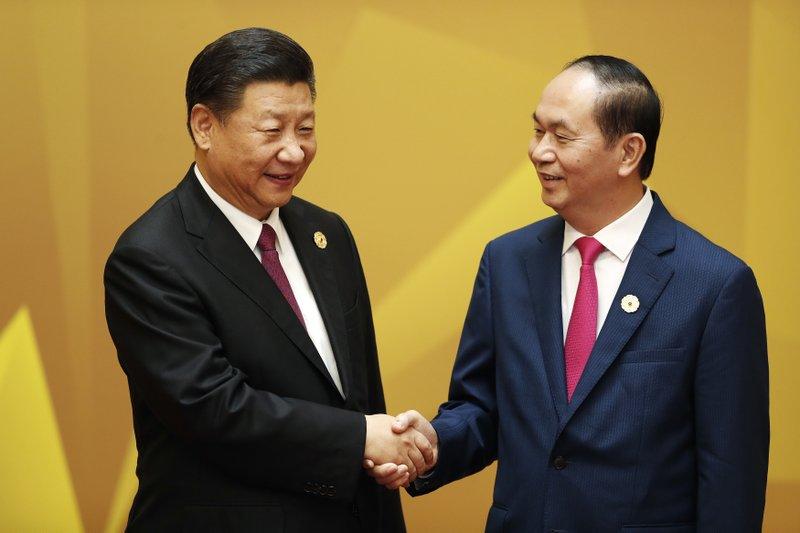 Xi Jinping, Tran Dai Quang