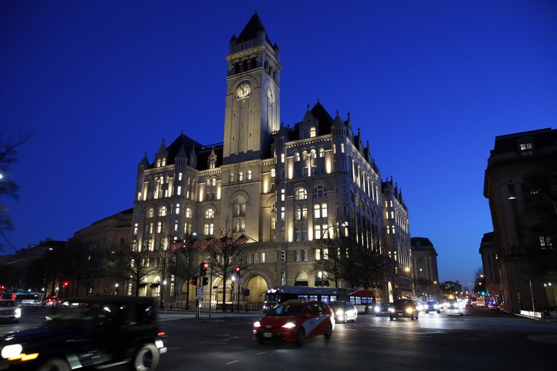 Judge hears arguments on Trump profit from foreign governments