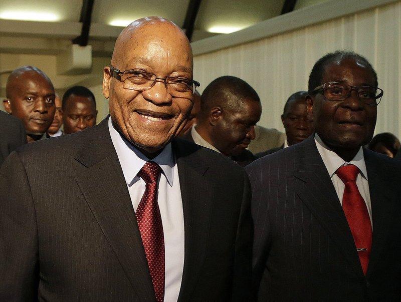 Jacob Zuma, Robert Mugabe