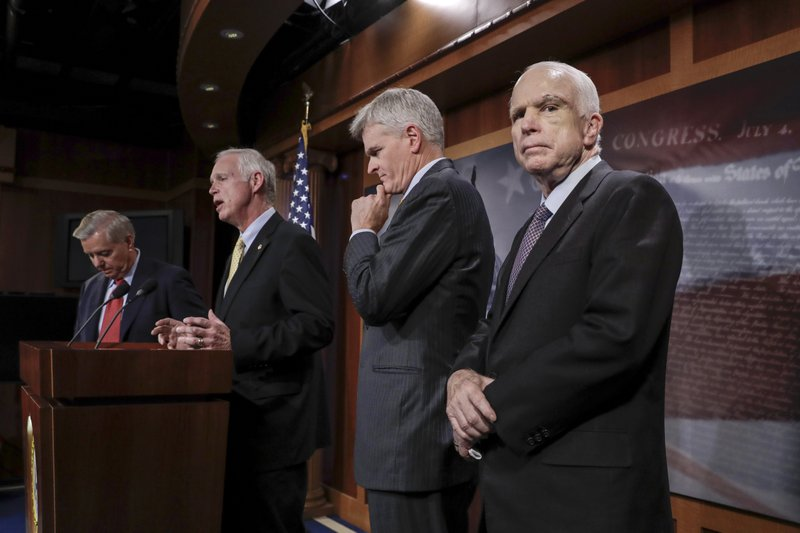 John McCain,Lindsey Graham,Bill Cassidy,Ron Johnson