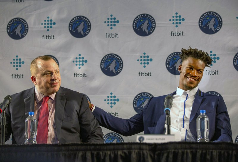 Jimmy Butler, Tom Thibodeau