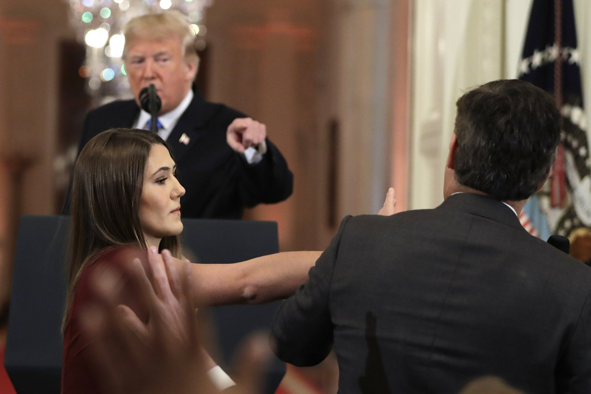 Image result for jim acosta AP