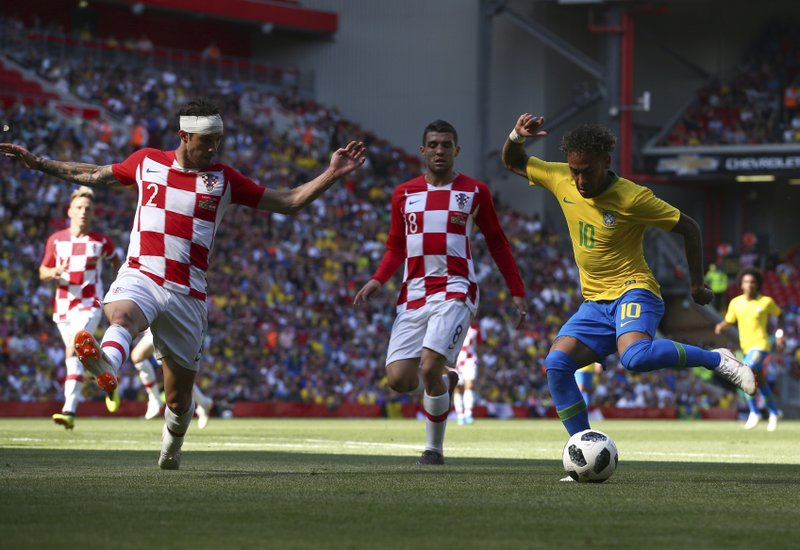 Image result for brazil croatia anfield