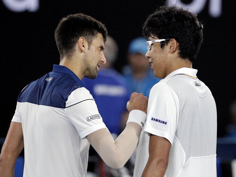 Novak Djokovic Chung Hyeon