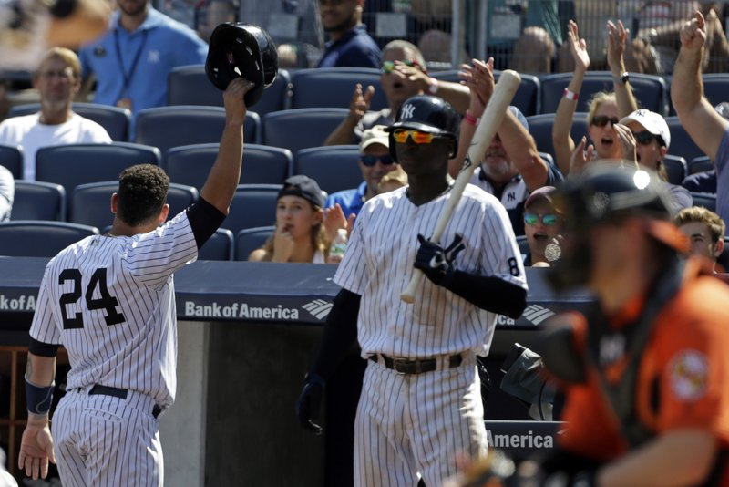 Sanchez hits another home run, Yankees rout Orioles 13-5