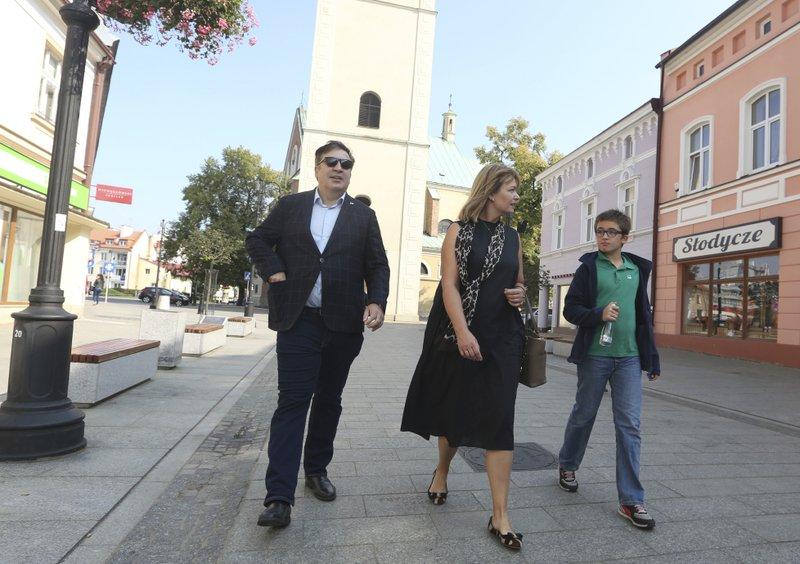Mikheil Shaakashvili, Sandra Roelofs, Nikoloz Shaakashvili