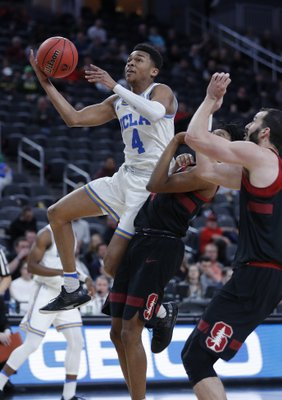 67917f44348 LAS VEGAS (AP) — UCLA shut Stanford down well into the second half,  appearing as if it would cruise into the next round of the Pac-12  tournament.