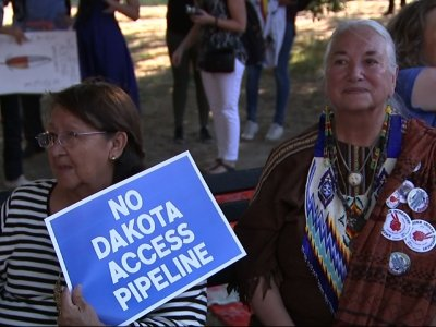 Dakota Pipeline Protest Near White House