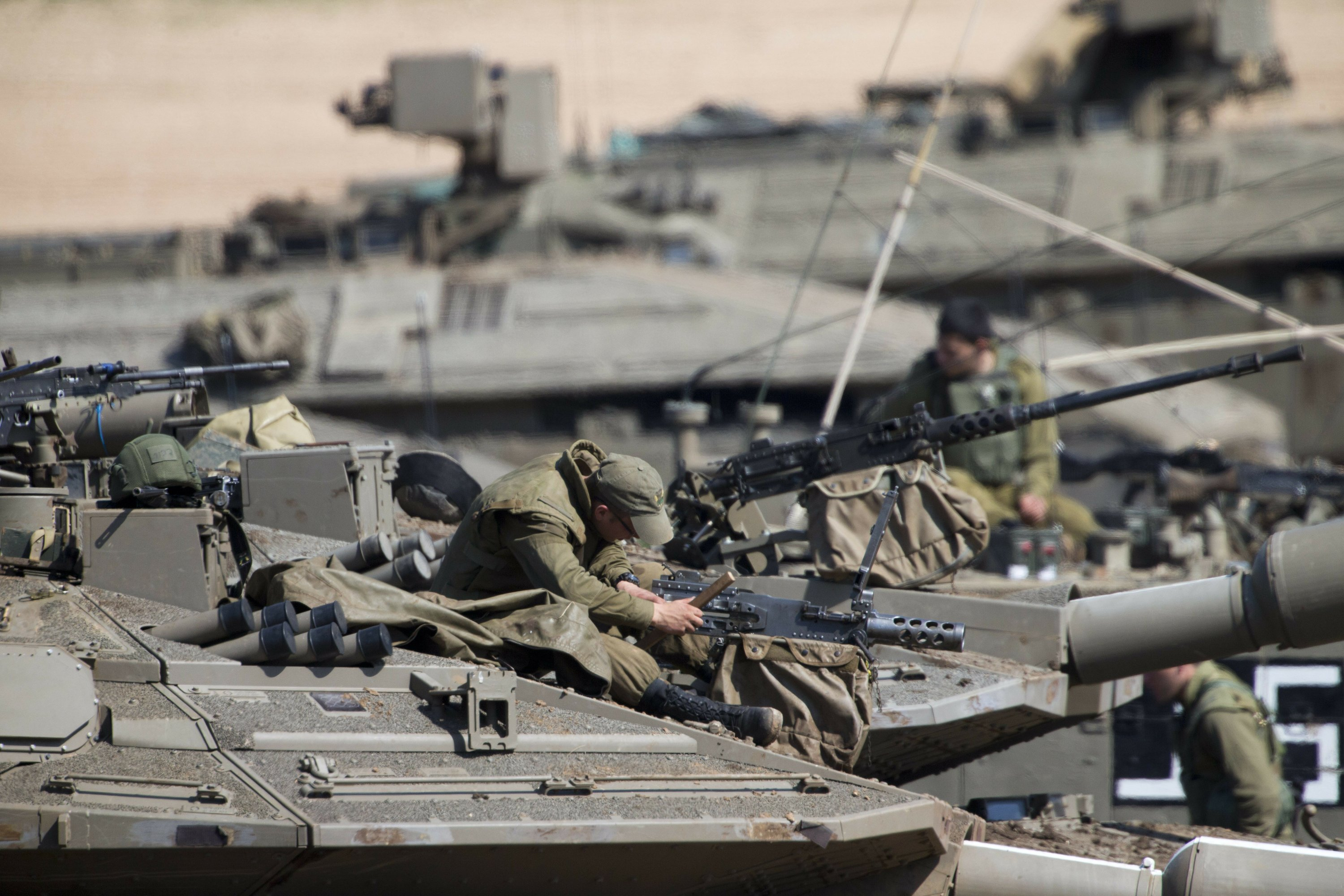 Israeli PM consults with military after Gaza violence