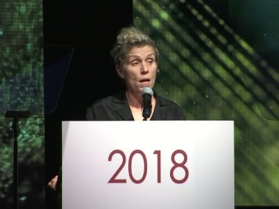McDormand: 'I'm really tired of patting myself on the back'