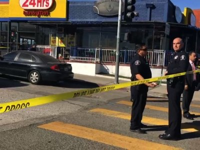 Boy Shot in Head at LA Middle School