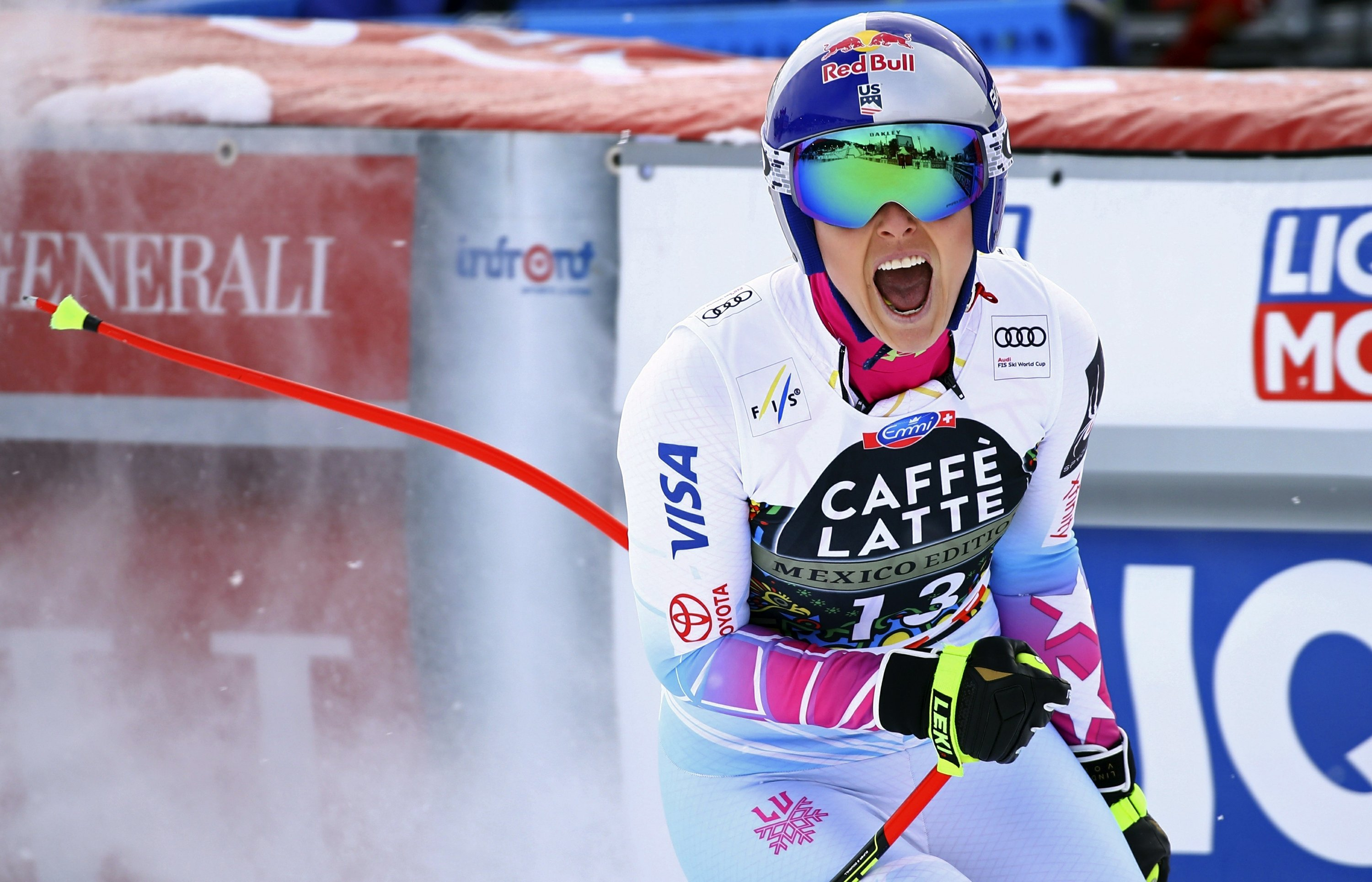 Vonn all set to charge after ski racing's hallowed wins mark