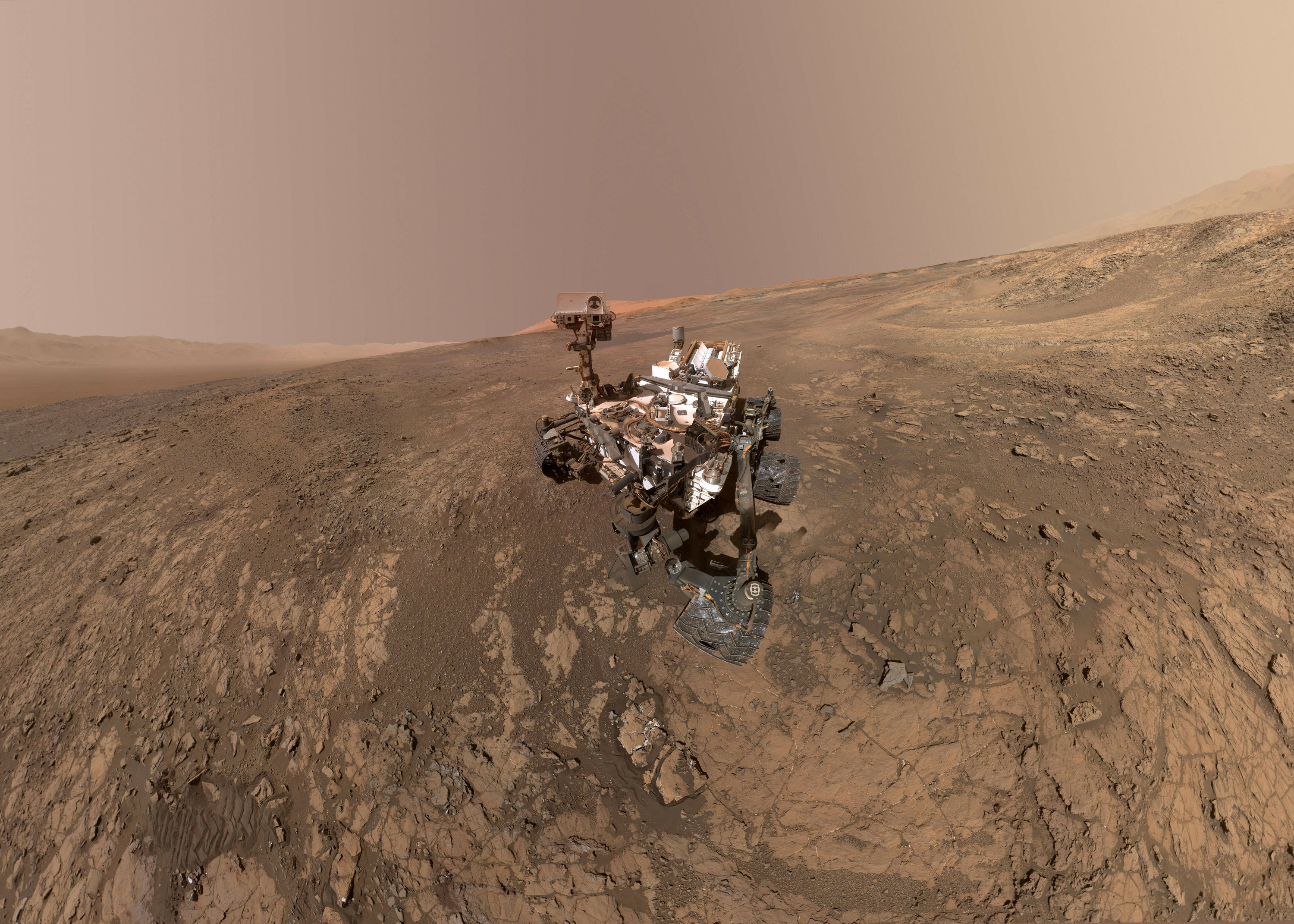 Curiosity is a carsized rover designed to explore the crater Gale on Mars as part of NASAs Mars Science Laboratory mission MSL Curiosity was launched from Cape
