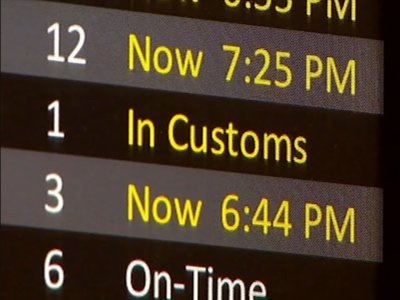 Customs Outage Delays International Travelers