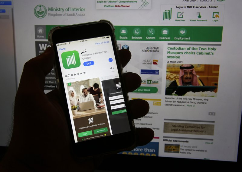 Saudi app criticized for feature to control women's travel