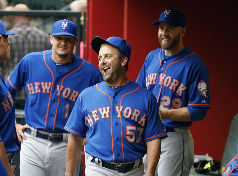 Kevin Long, Darrell Ceciliani, Eric Campbell
