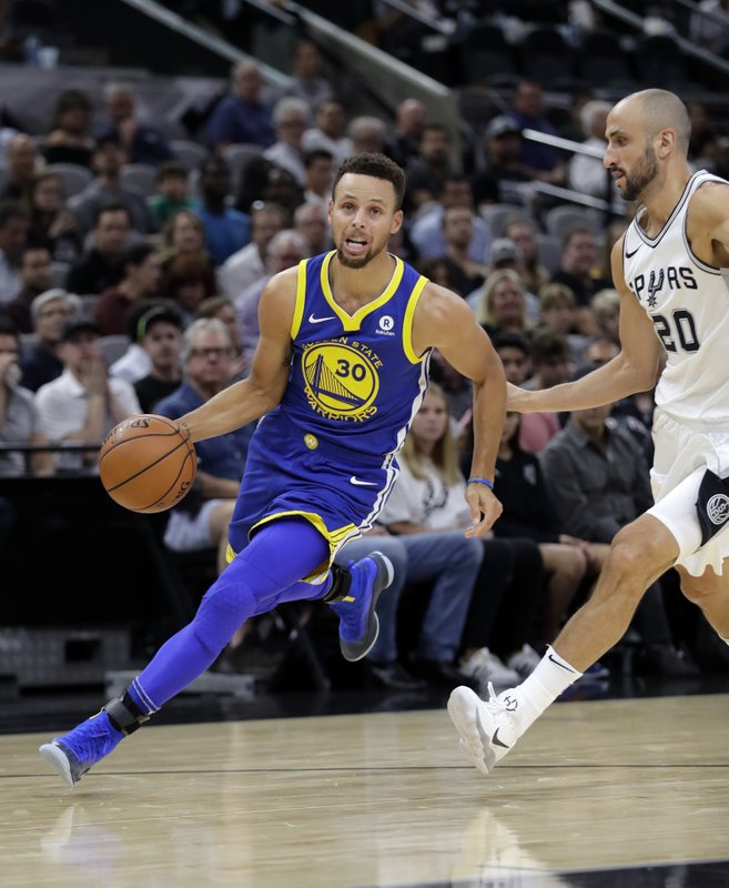 Stephen Curry, Manu Ginobili