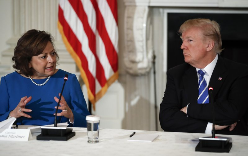 Donald Trump, Susana Martinez,