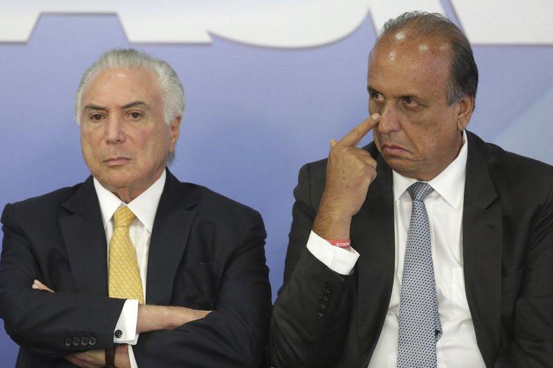 Michel Temer, Luiz Fernando Pezao