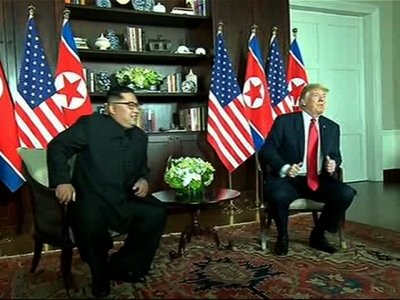 Trump and Kim Meet at Historic Singapore Summit