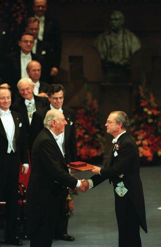 Dario Fo, King Carl XVI Gustaf