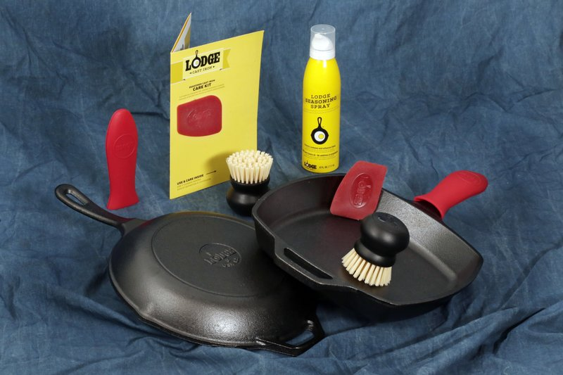 Lodge Seasoned Cast Iron Care Kit, Lodge skillets