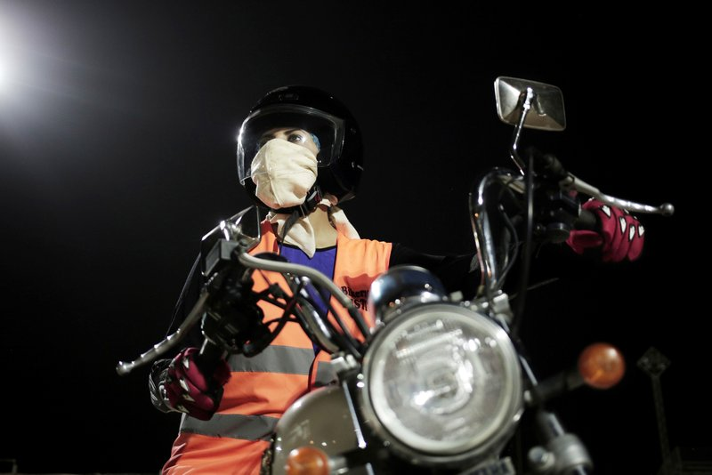 Maha Mohammed poses for a photograph on a motorbike as she learns how to ride, at the Bikers Skills institute in Riyadh, Saudi Arabia on June 23, 2018. As the kingdom prepares to lift a ban on women driving, Saudi women are being pushed to the forefront of a major transformation being spearheaded by the country's Crown Prince Mohammed bin Salman. It also places women in the crosshairs of a decades-old pull-and-tug between Saudis agitating for more social openings and a majority that remains deeply conservative.