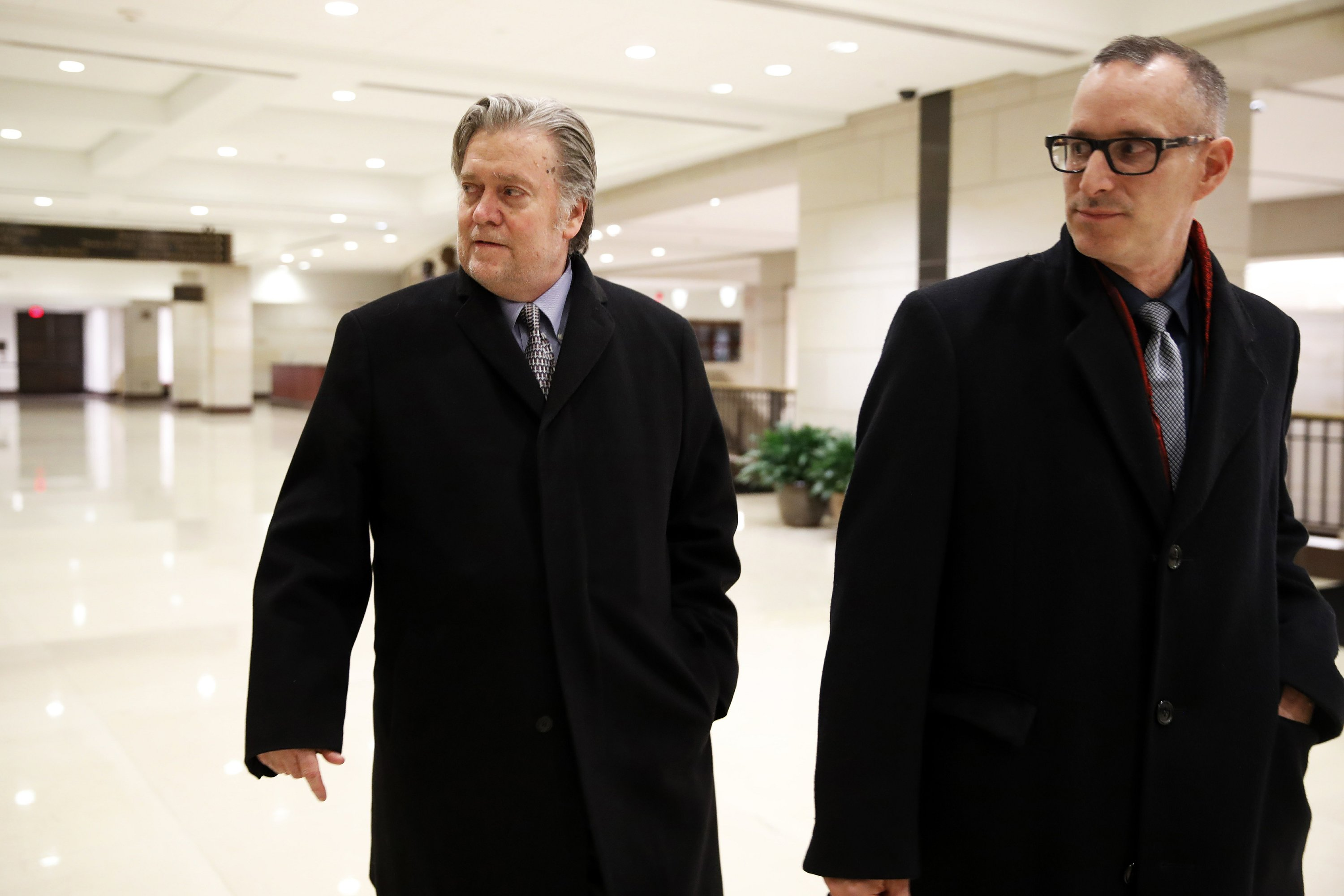 AP Sources: WH directed Bannon silence in House interview