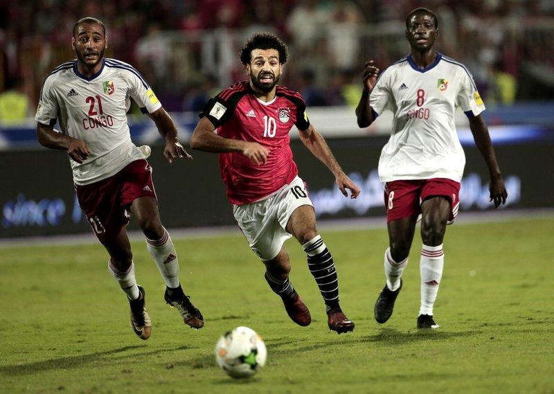 Mohamed Salah, Delvin N'Dinga, Tobias Badila