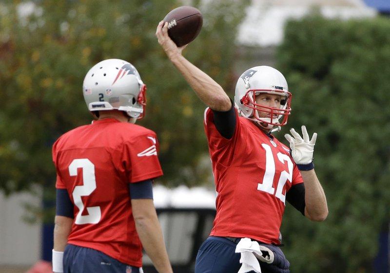 Brian Hoyer, Tom Brady