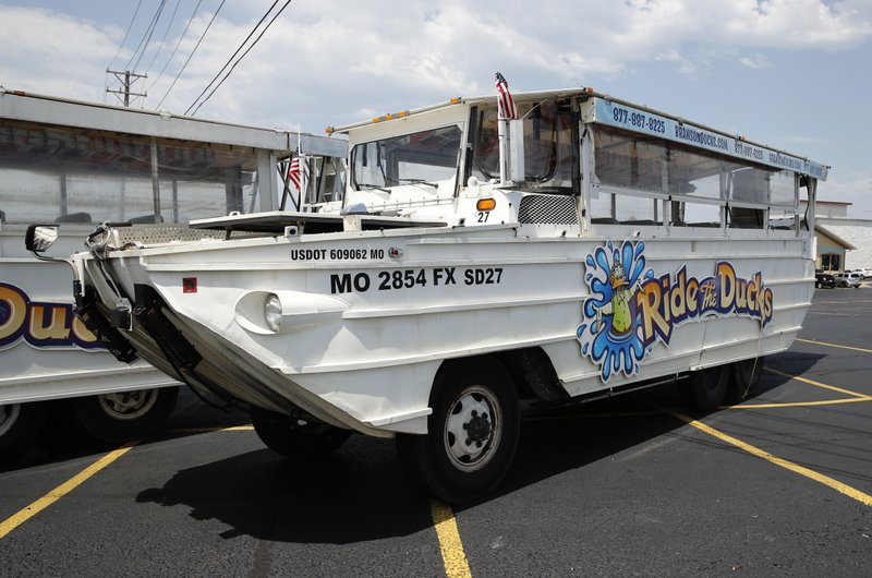 Duck boats linked to more than 40 deaths since 1999