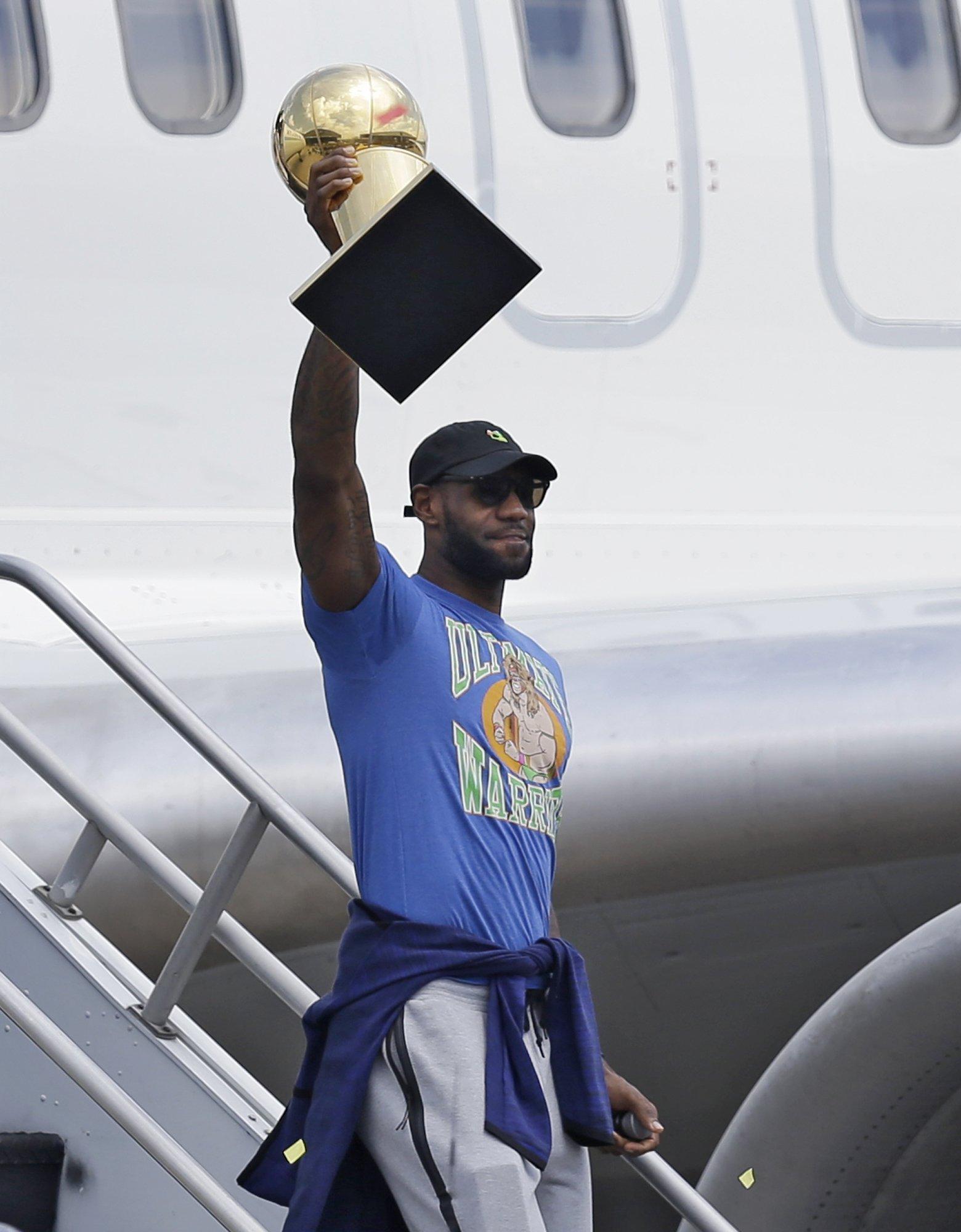 LeBron blasts critics on social media after winning title