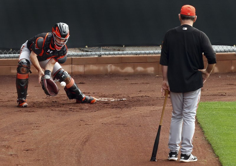 Bruce Bochy, Buster Posey