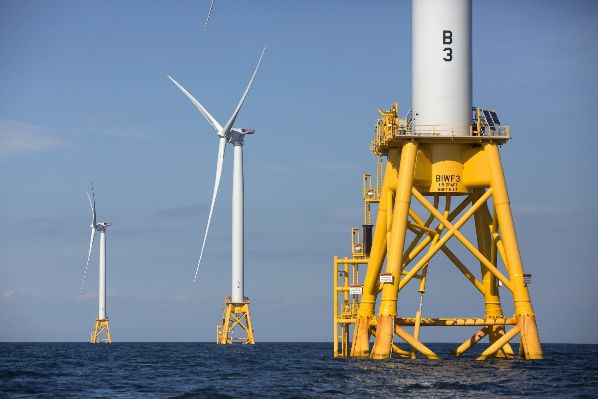 New offshore wind farm project will dwarf nation's 1st one