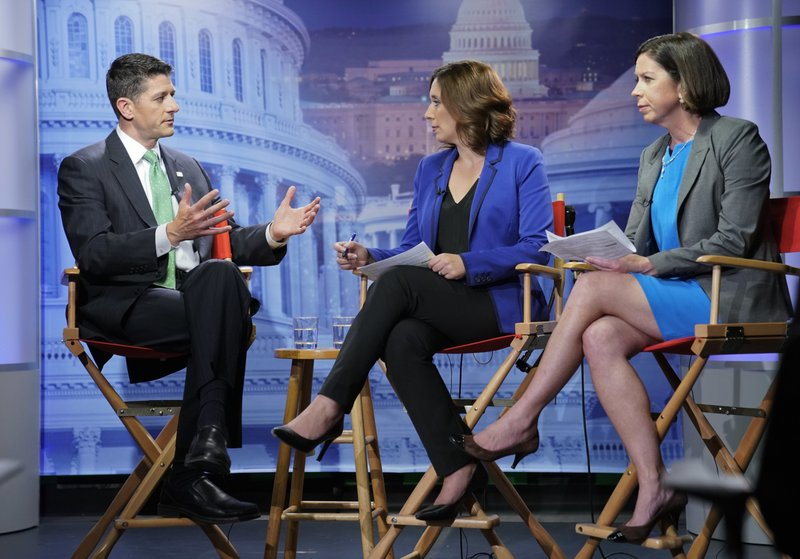 Paul Ryan, Julie Pace, Erica Werner