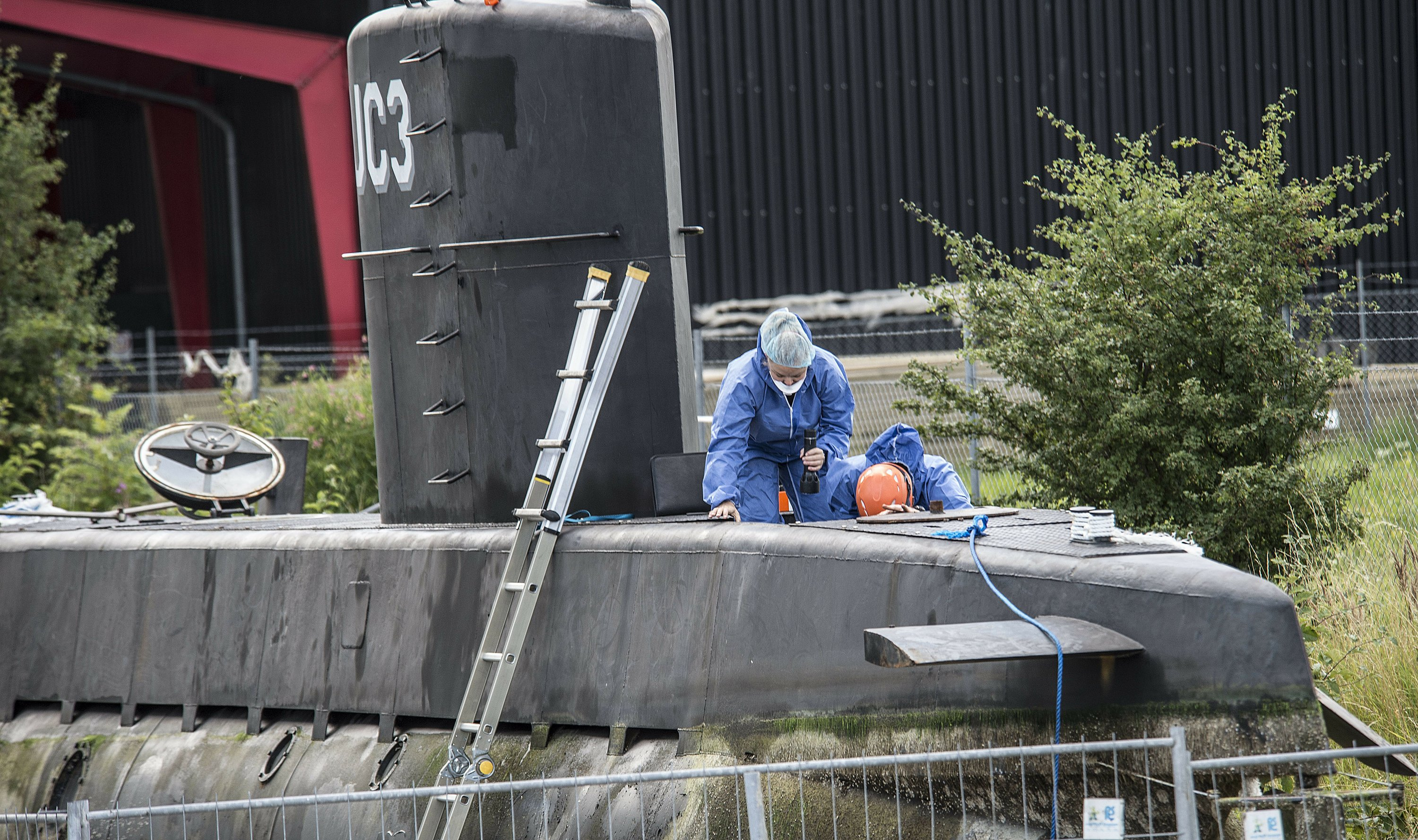 Danish police says submarine inventor won't talk anymore