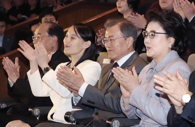 Moon Jae-in, Kim Yo Jong