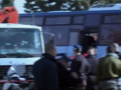 Truck Slams Into Group of Israeli Soldiers